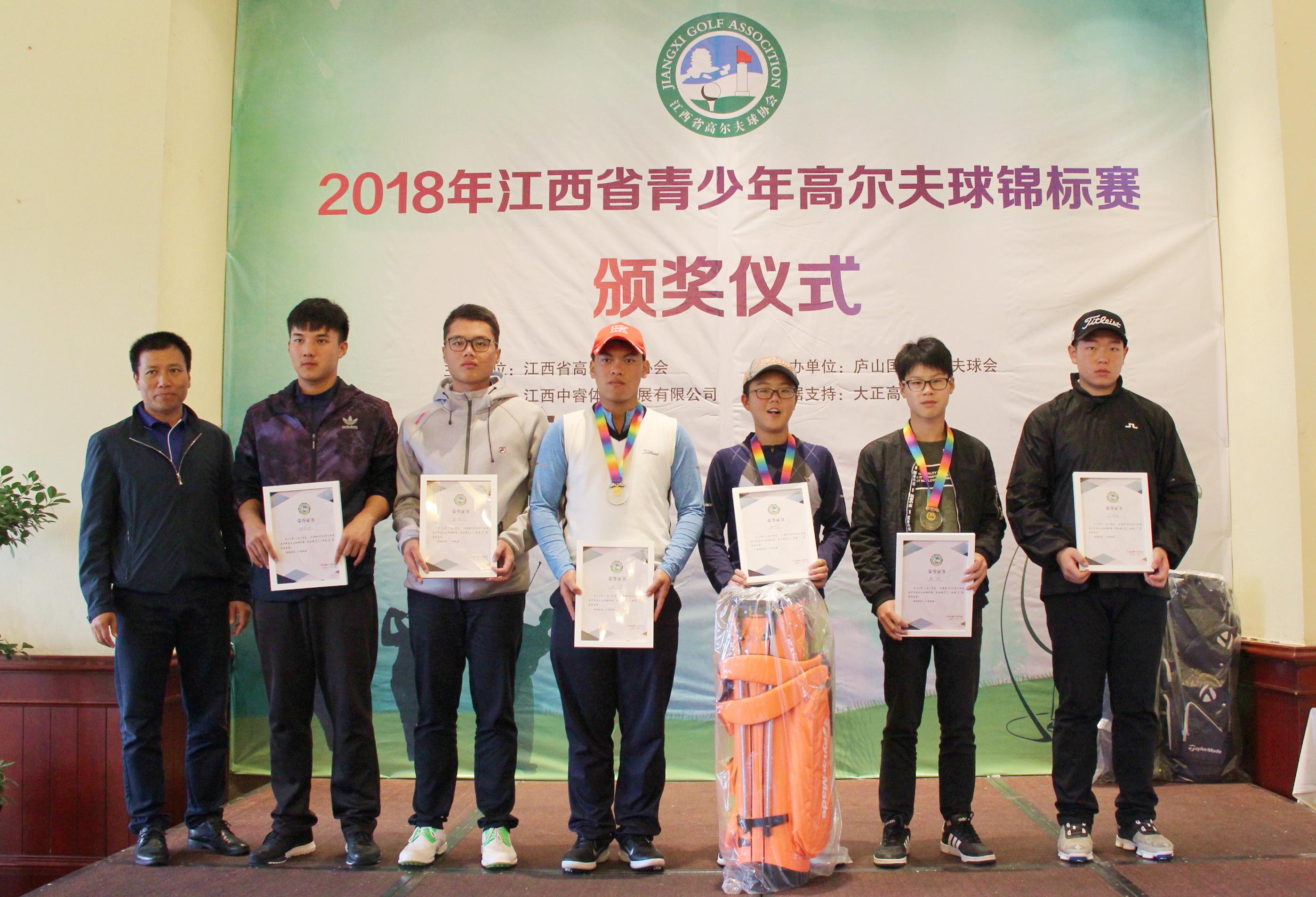 2018年江西省青少年高尔夫球锦标赛收杆